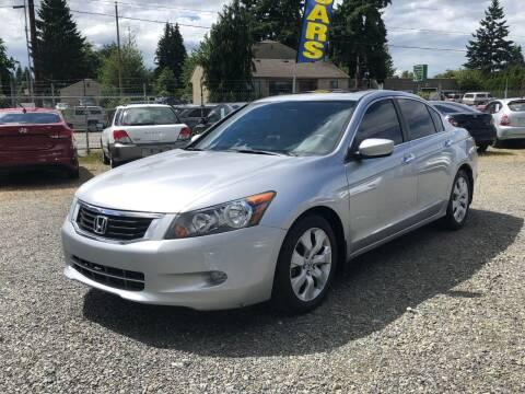 2008 Honda Accord for sale at A & V AUTO SALES LLC in Marysville WA