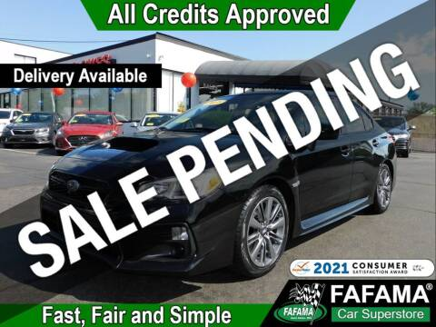 2018 Subaru WRX for sale at FAFAMA AUTO SALES Inc in Milford MA