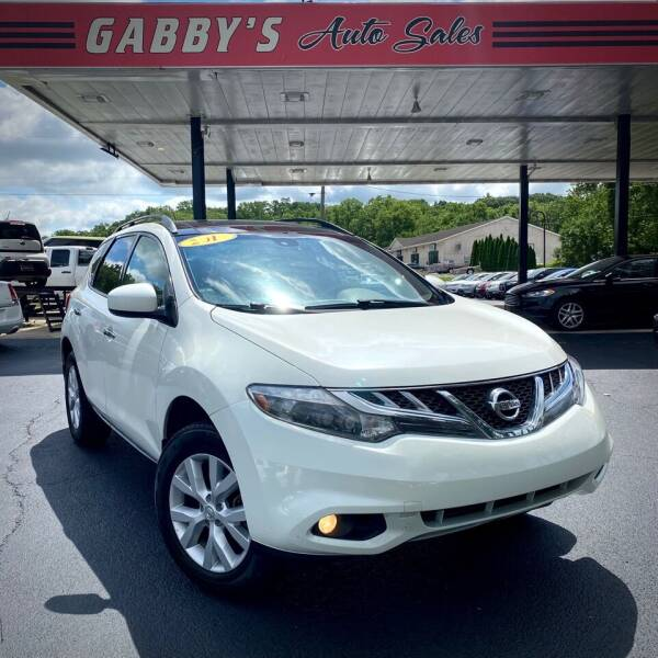 2011 Nissan Murano for sale at GABBY'S AUTO SALES in Valparaiso IN