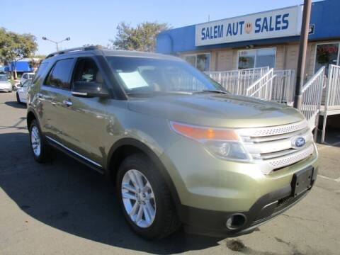 2013 Ford Explorer for sale at Salem Auto Sales in Sacramento CA