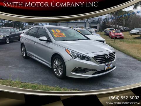 2015 Hyundai Sonata for sale at Smith Motor Company INC in Mc Cormick SC