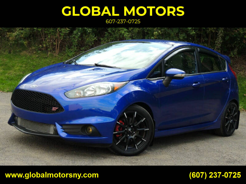 2014 Ford Fiesta for sale at GLOBAL MOTORS in Binghamton NY
