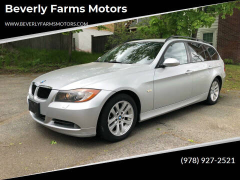2007 BMW 3 Series for sale at Beverly Farms Motors in Beverly MA