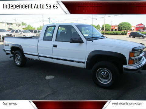 1998 Chevrolet C/K 2500 Series for sale at Independent Auto Sales in Spokane Valley WA