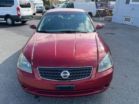 2006 Nissan Altima for sale at Fuentes Brothers Auto Sales in Jessup MD