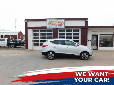2014 Hyundai Tucson for sale at Pork Chops Truck and Auto in Cheyenne WY