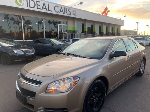 2008 Chevrolet Malibu for sale at Ideal Cars in Mesa AZ