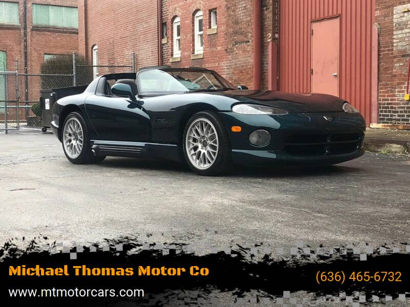 1995 Dodge Viper for sale at Michael Thomas Motor Co in Saint Charles MO