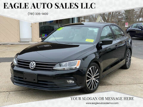 2016 Volkswagen Jetta for sale at Eagle Auto Sales LLC in Holbrook MA
