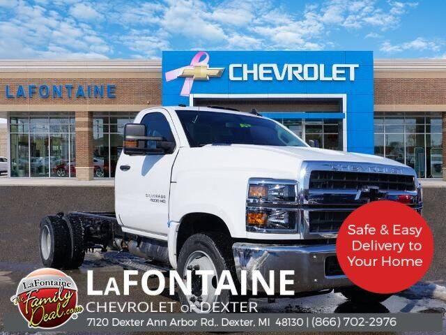 2021 Chevrolet Silverado 5500HD for sale in Dexter, MI