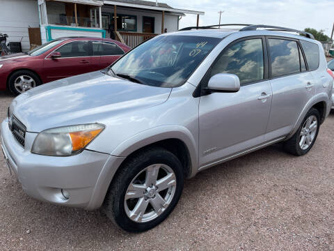 2007 Toyota RAV4 for sale at PYRAMID MOTORS - Fountain Lot in Fountain CO