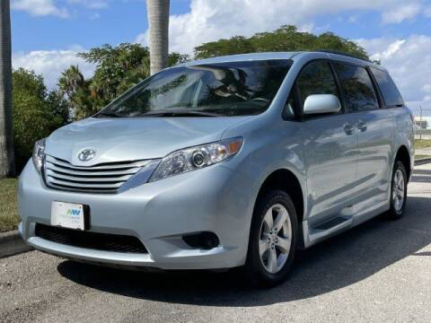 2016 Toyota Sienna for sale at Sailfish Auto Group in Hollywood FL