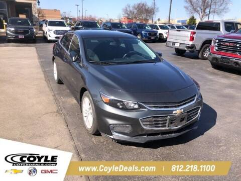2018 Chevrolet Malibu for sale at COYLE GM - COYLE NISSAN - New Inventory in Clarksville IN