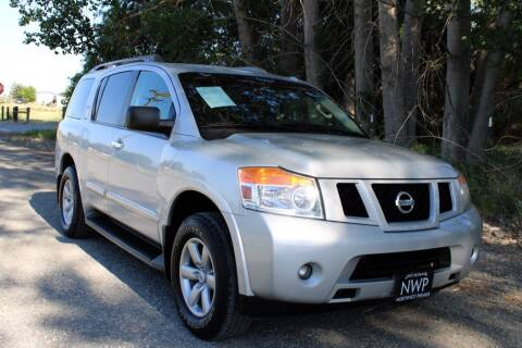 2015 Nissan Armada for sale at Northwest Premier Auto Sales in West Richland And Kennewick WA
