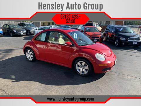 2007 Volkswagen New Beetle for sale at Hensley Auto Group in Middletown OH