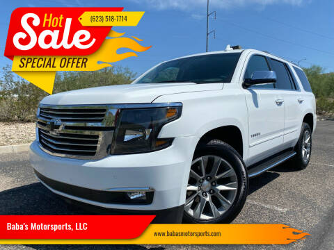2020 Chevrolet Tahoe for sale at Baba's Motorsports, LLC in Phoenix AZ