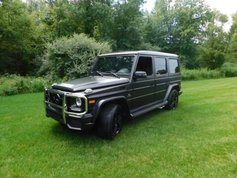 2015 Mercedes-Benz G-Class for sale at Shedlock Motor Cars LLC in Warren NJ