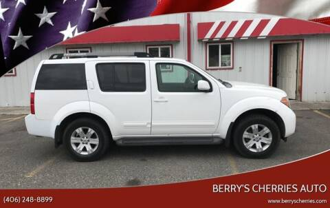 2005 Nissan Pathfinder for sale at Berry's Cherries Auto in Billings MT