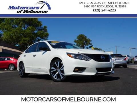 2018 Nissan Altima for sale at Motorcars of Melbourne in Rockledge FL