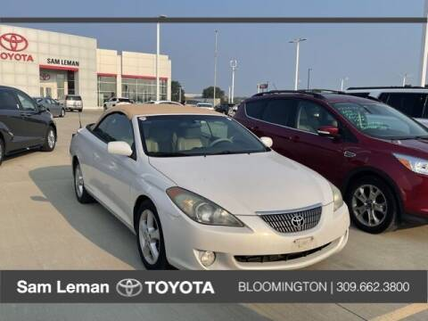 2004 Toyota Camry Solara for sale at Sam Leman Toyota Bloomington in Bloomington IL