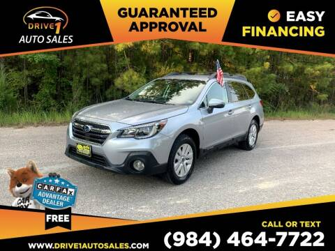 2019 Subaru Outback for sale at Drive 1 Auto Sales in Wake Forest NC