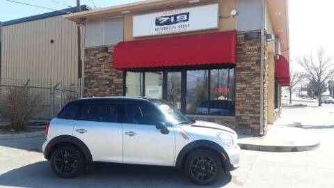2014 MINI Countryman for sale at 719 Automotive Group in Colorado Springs CO