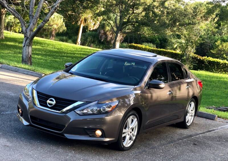 2016 Nissan Altima for sale at Sunshine Auto Sales in Oakland Park FL