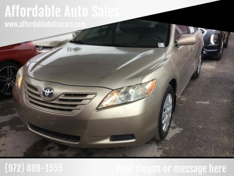 2009 Toyota Camry for sale at Affordable Auto Sales in Dallas TX