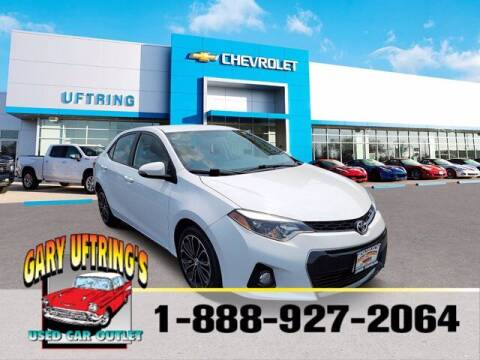 2014 Toyota Corolla for sale at Gary Uftring's Used Car Outlet in Washington IL