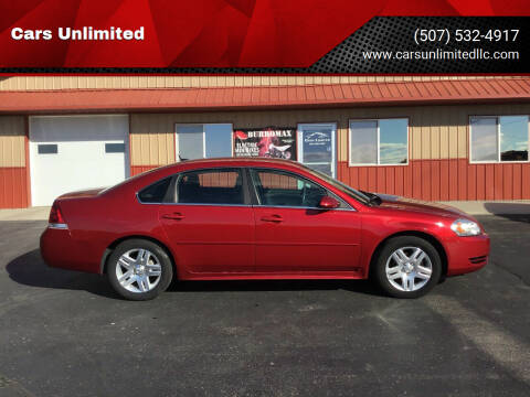 2015 Chevrolet Impala Limited for sale at Cars Unlimited in Marshall MN