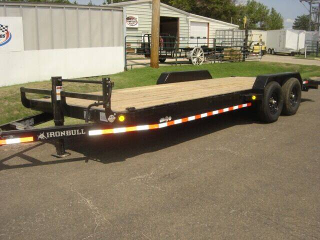 2022 83 X 22 IRON BULL HD EQUIPMENT HAULER for sale at Midwest Trailer Sales & Service in Agra KS