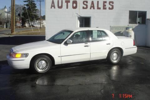 2001 Mercury Grand Marquis for sale at Weston's Auto Sales, Inc in Crewe VA