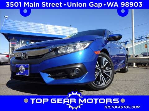 2016 Honda Civic for sale at Top Gear Motors in Union Gap WA