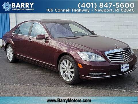 2013 Mercedes-Benz S-Class for sale at BARRYS Auto Group Inc in Newport RI
