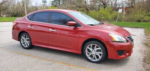 2013 Nissan Sentra for sale at Luxury Cars Xchange in Lockport IL