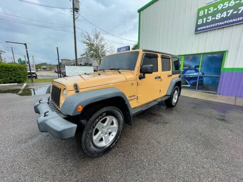 2013 Jeep Wrangler Unlimited for sale at Bay City Autosales in Tampa FL