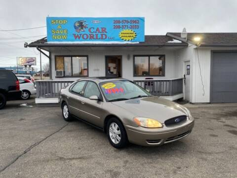 2007 Ford Taurus for sale at CAR WORLD in Nampa ID