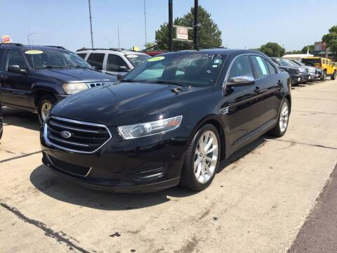 2016 Ford Taurus for sale at De Anda Auto Sales in South Sioux City NE