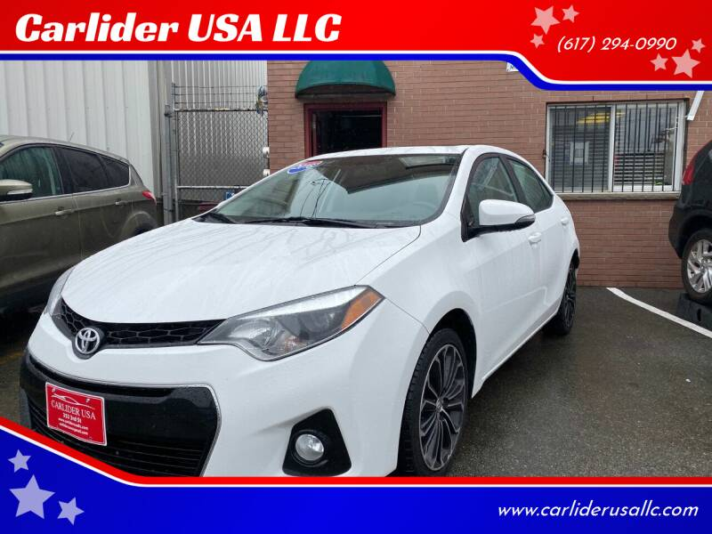 2016 Toyota Corolla for sale at Carlider USA in Everett MA