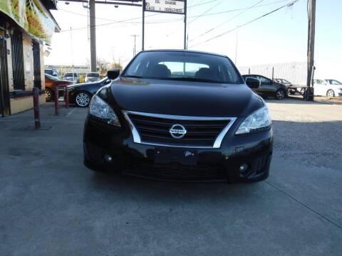 2013 Nissan Sentra for sale at N & A Metro Motors in Dallas TX