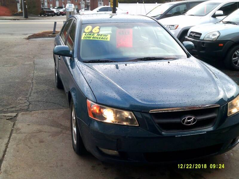 2006 Hyundai Sonata for sale at Trust Petroleum in Rockland MA
