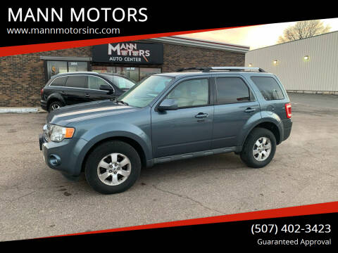 2010 Ford Escape for sale at MANN MOTORS in Albert Lea MN