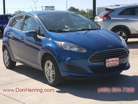 2019 Ford Fiesta for sale at DON HERRING MITSUBISHI in Irving TX