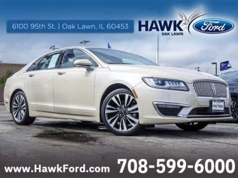 2018 Lincoln MKZ for sale at Hawk Ford of Oak Lawn in Oak Lawn IL