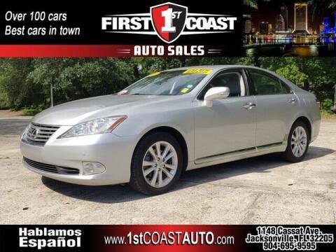 2011 Lexus ES 350 for sale at 1st Coast Auto -Cassat Avenue in Jacksonville FL