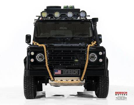 1988 Land Rover Defender for sale at Texas Prime Motors in Houston TX