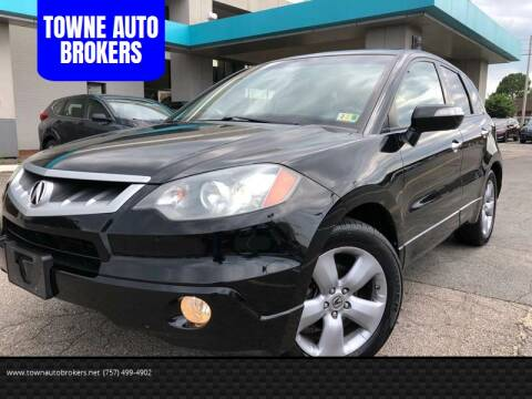 2009 Acura RDX for sale at TOWNE AUTO BROKERS in Virginia Beach VA