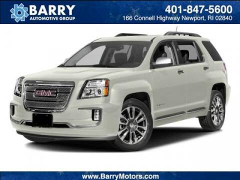 2016 GMC Terrain for sale at BARRYS Auto Group Inc in Newport RI