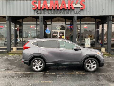 2017 Honda CR-V for sale at Siamak's Car Company llc in Salem OR