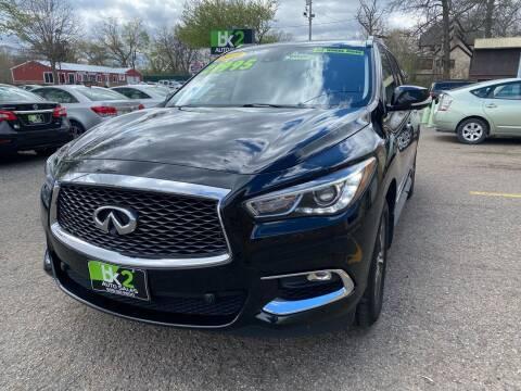 2018 Infiniti QX60 for sale at BK2 Auto Sales in Beloit WI
